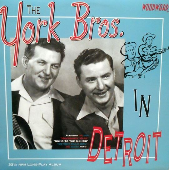 The York Bros. In Detroit (LP)