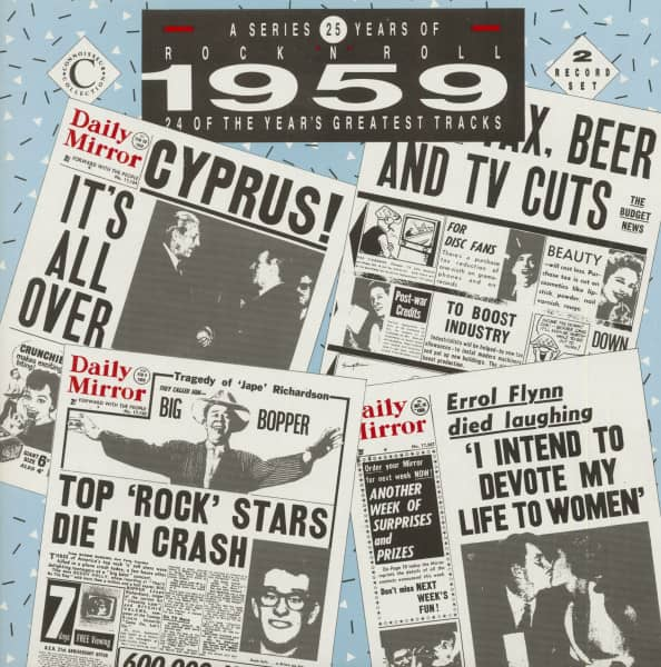25 Years Of Rock 'N' Roll - 1959 (2-LP)