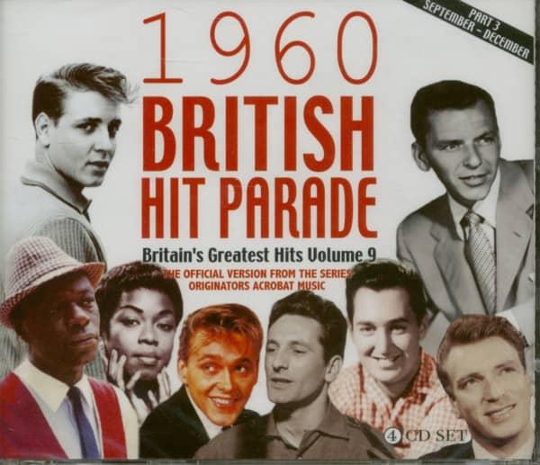 1960 British Hit Parade, Vol.3 (4-CD)