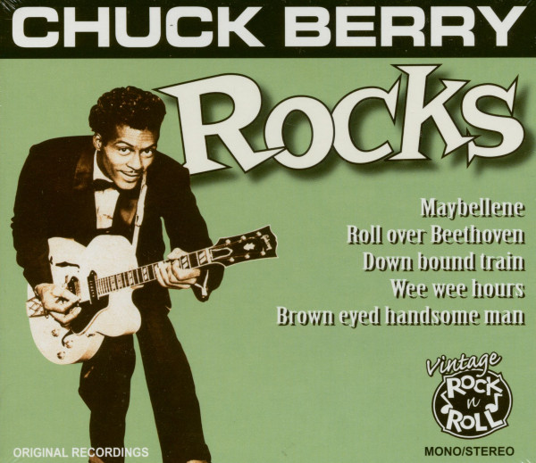 Chuck Berry Rocks (CD)