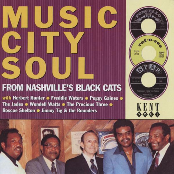 Va Music City Soul - From Nashville's Black Cats