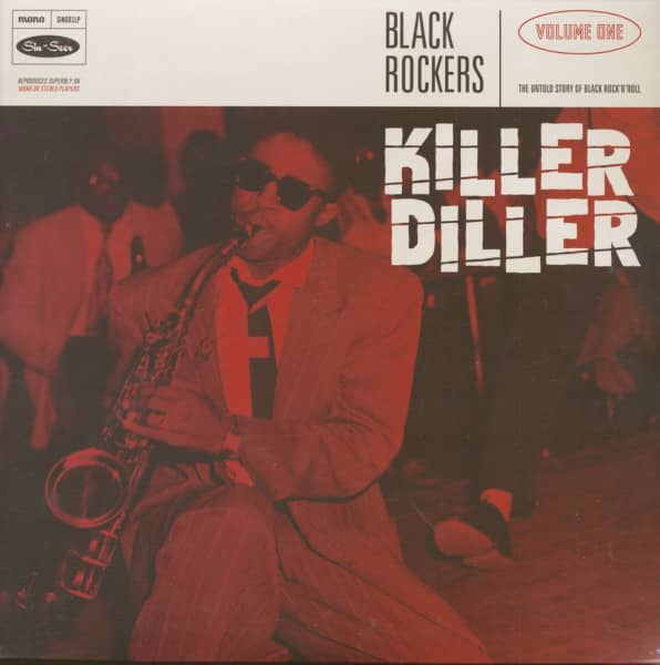 Black Rockers Vol. 1 - Killer Diller (LP)