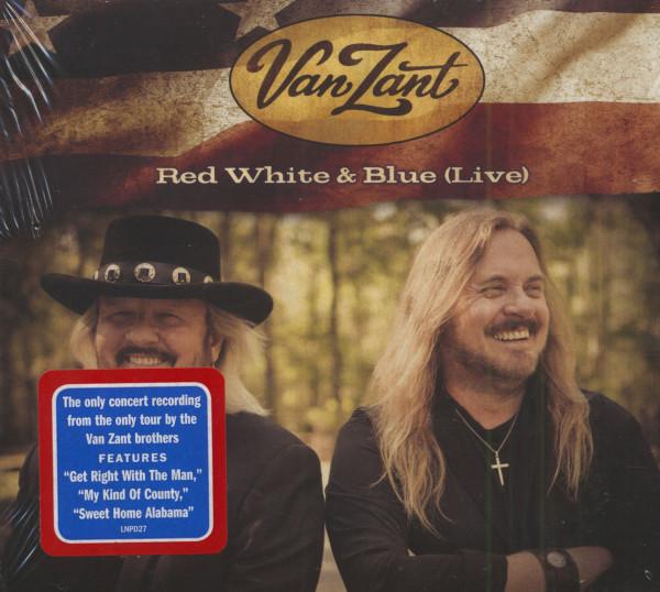 Red White & Blue Live (CD)
