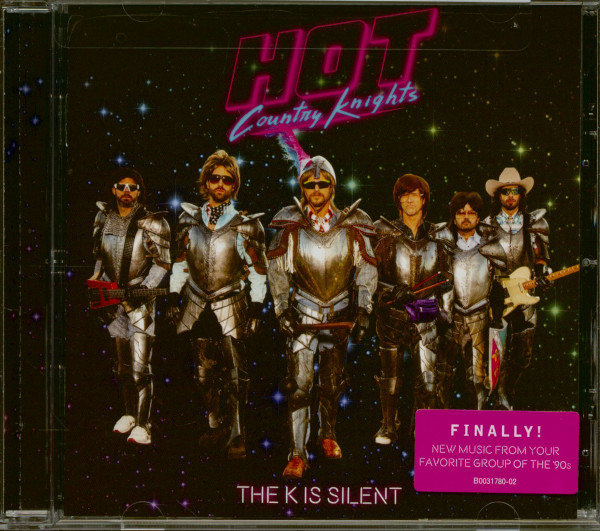The K Is Silent (CD)