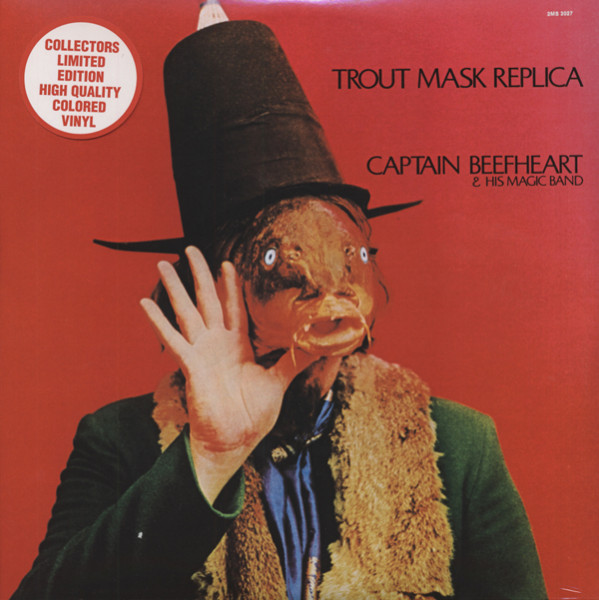 Captain Beefheart Trout Mask Replica (2-LP) (red vinyl)
