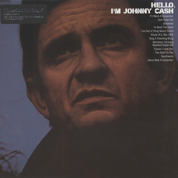 Cash, Johnny Hello, I'm Johnny Cash (1970) 180g Vinyl