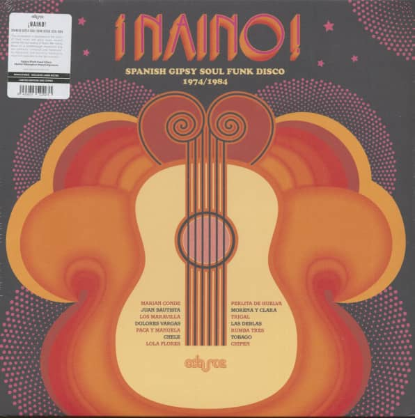Naino - Spanish Gipsy Soul Funk Disco 1974-1984 (LP, Ltd.)