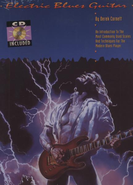 Cornett, Derek Electric Blues Guitar (Buch+CD)