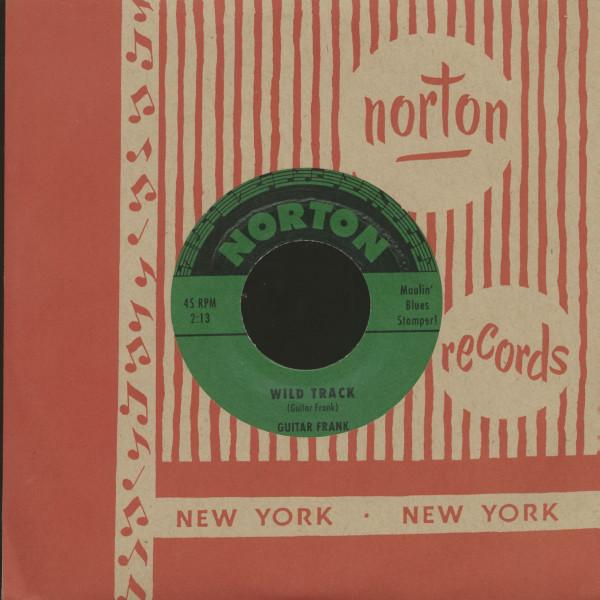 Guitar Frank - Big Brown & The Gamblers (7inch, 45rpm)