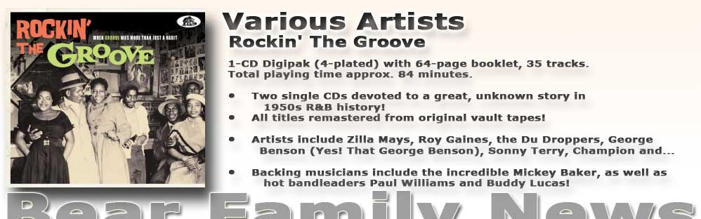 Various Rockin' The Groove