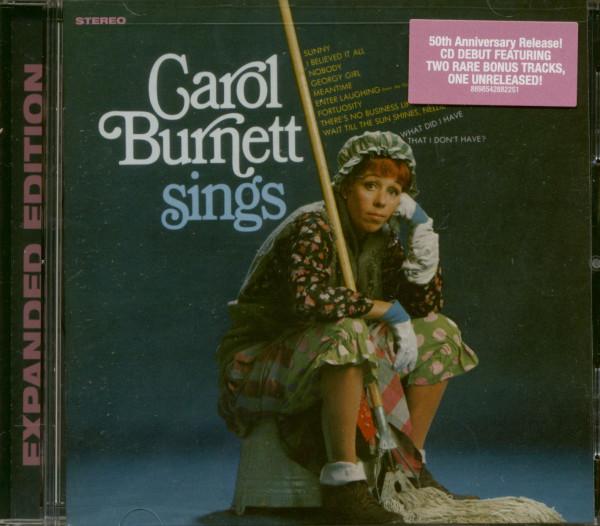 Carol Burnett Sings (CD)
