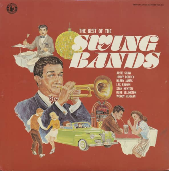 The Best Of Swing Bands (LP)