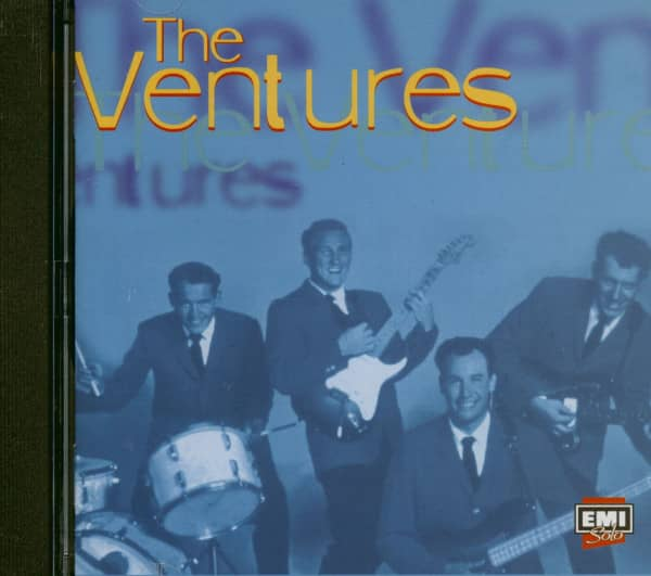 The Ventures - EMI Solo Series (CD Album)