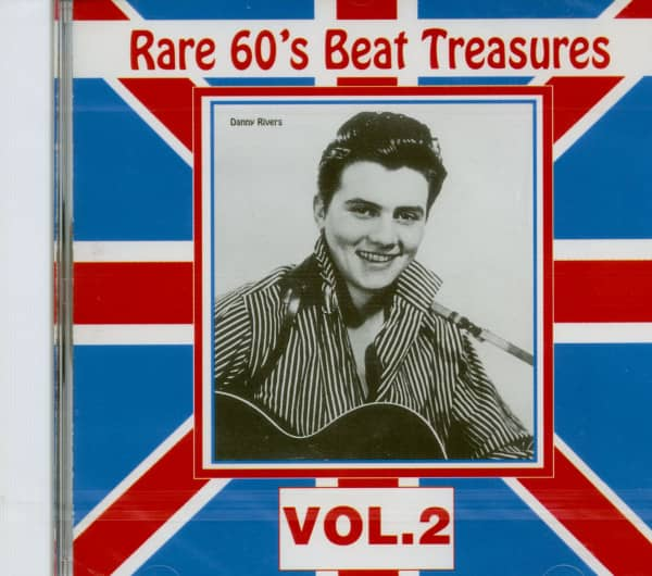 Rare 60's Beat Treasures, Vol.2 (CD)