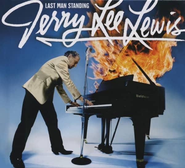Lewis, Jerry Lee Last Man Standing (US) Jewelcase