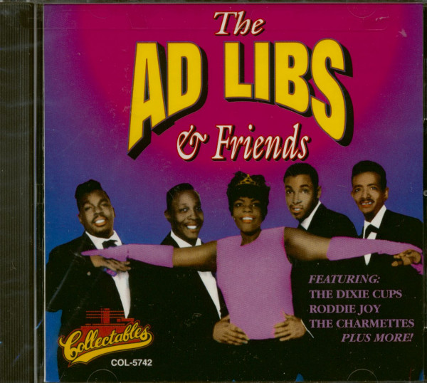 The Ad Libs & Friends (CD)