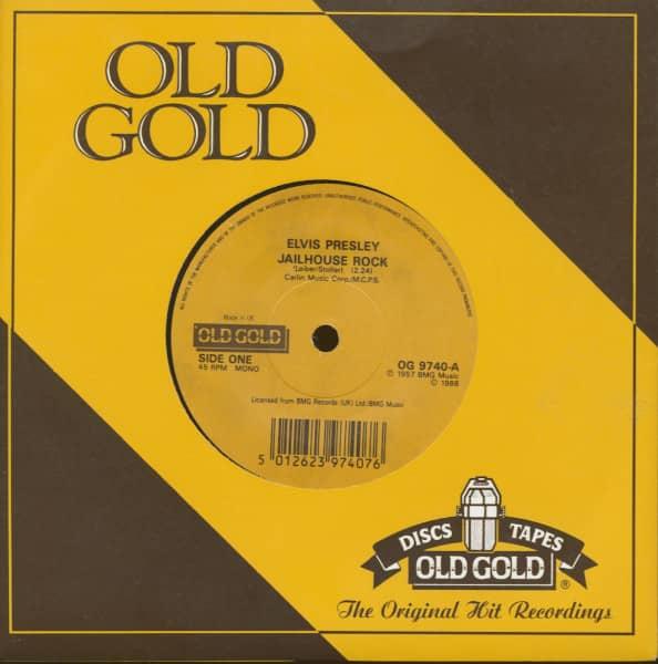 Jailhouse Rock - Treat Me Nice (7inch, 45rpm, sc)