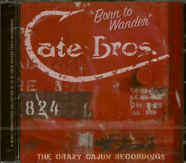 Born to Wander - The Crazy Cajun Recordings (CD)