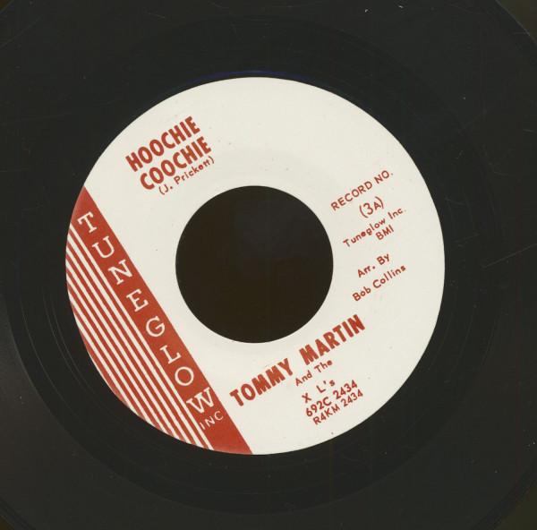 Hoochie Coochie - Let It Ride (7inch, 45rpm)