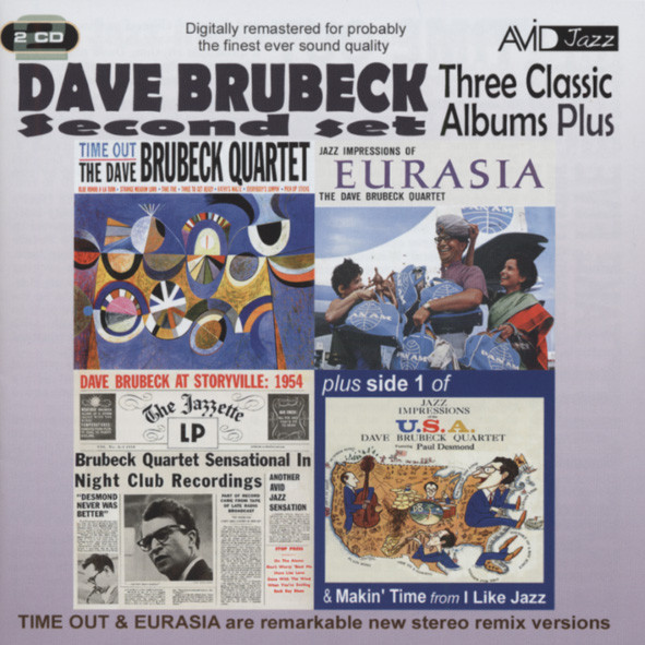 Brubeck, Dave Three Classic Albums plus (2-CD)