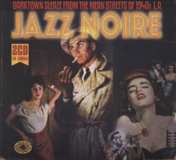 Va Jazz Noire - Mean Streets Of 1940s L.A. (2-CD