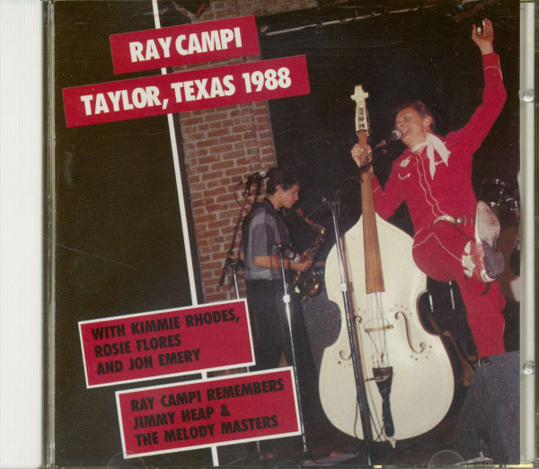 Taylor, Texas 1988 - Remembering Jimmy Heap