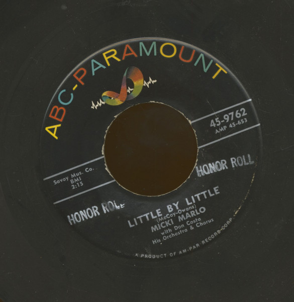 Little By Little - It All Started With Your Kiss (7inch, 45rpm)