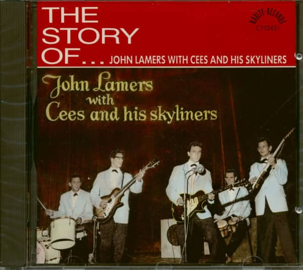 The Story Of John Lamers With Cees And His Skyliners (CD)