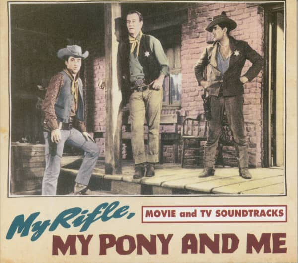 My Rifle, My Pony And Me (CD)