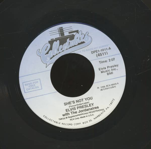 She's Not You - Jailhouse Rock (7inch, 45rpm)