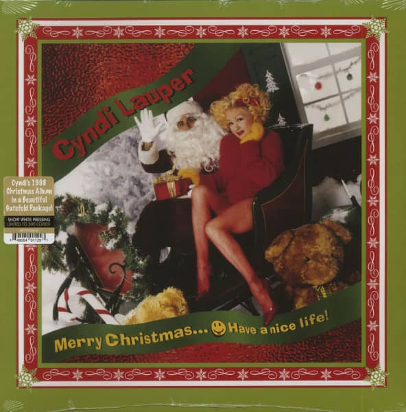 Merry Christmas... Have A Nice Life! (LP, White Vinyl, Ltd.)