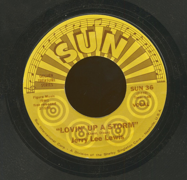 Lovin' Up A Storm - Big Blonde baby (7inch, 45rpm)