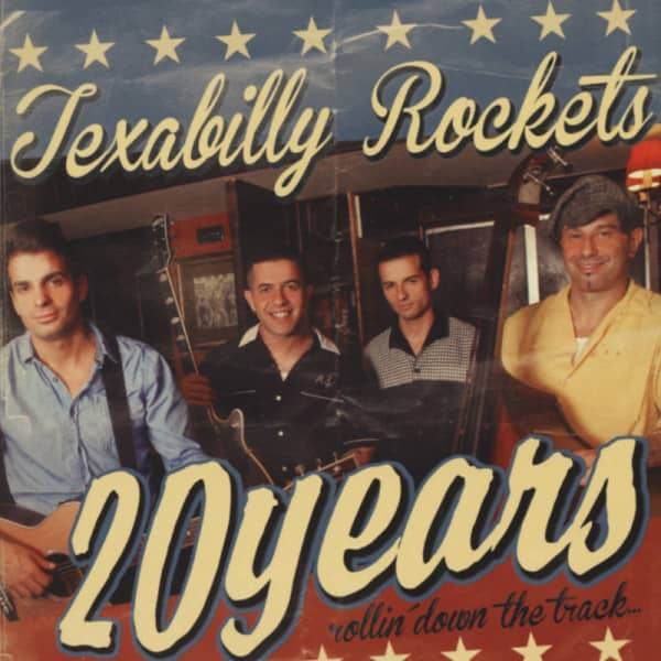 Texabilly Rockets 20 Years Rollin' Down The Track (2013)