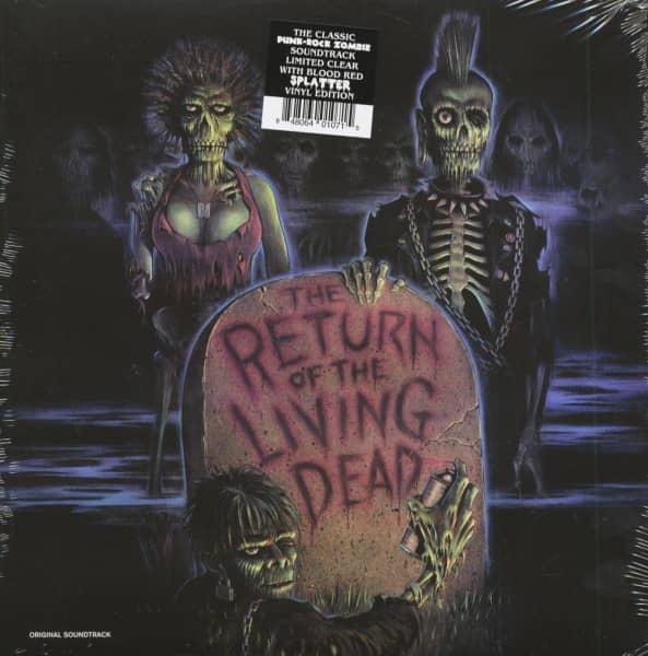 The Return Of The Living Dead - Soundtrack (LP, Colored Vinyl)