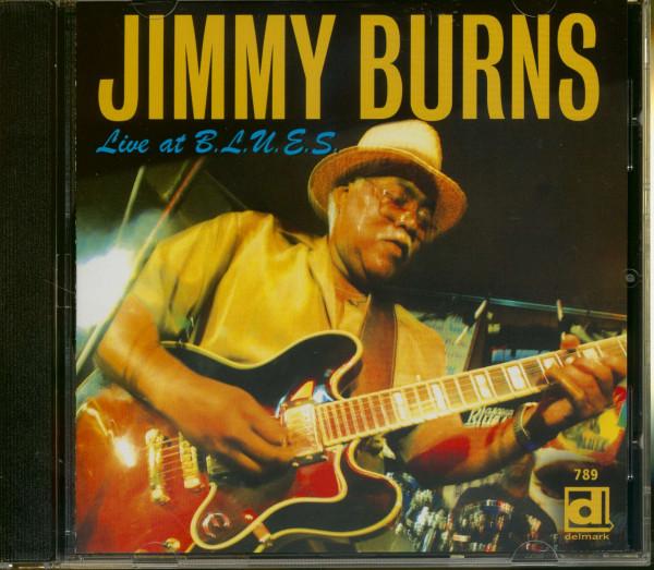 Burns, Jimmy Live At B.L.U.E.S.