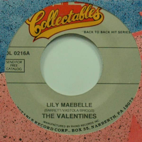 Lily Maebelle b-w Falling For You 7inch, 45rpm