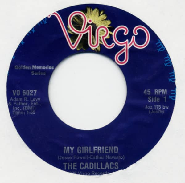 My Girlfriend b-w Gloria 7inch, 45rpm