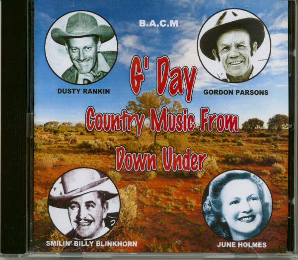 G' Day - Country Music From Down Under (CD)