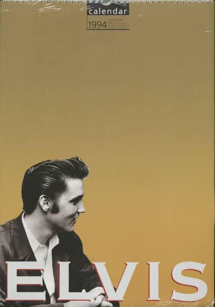 Elvis - Official 1994 Culture Shock Calendar