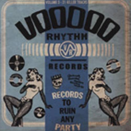 Va Vol.3, Voodoo Rhythm - Label Compilation