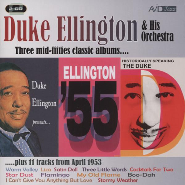 Ellington, Duke Three Mid-Fifties Classic Albums (2-CD)