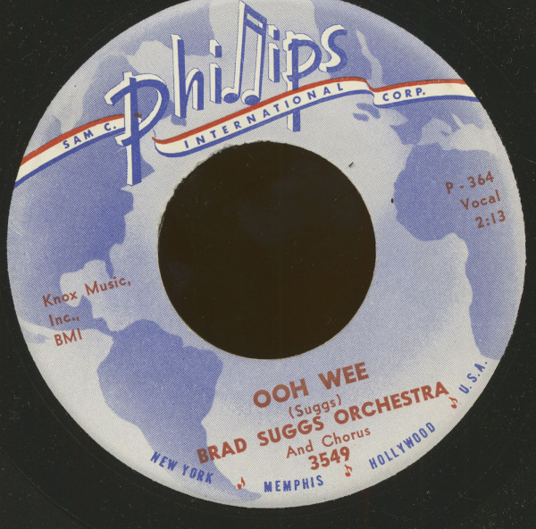 Ooh Wee - I Walk The Line (7inch, 45rpm)