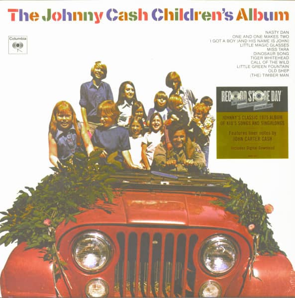 The Johnny Cash Children's Album (LP, Ltd.)