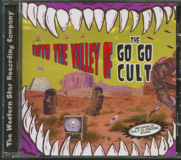 Into The Valley Of The Go Go Cult (CD)