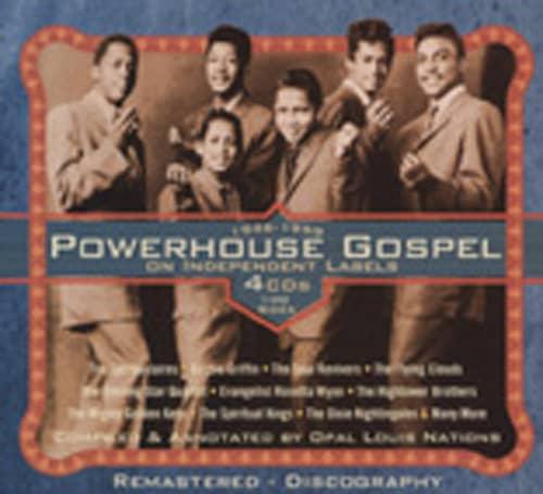 Powerhouse Gospel On Independant Labels (4-CD
