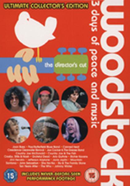 Va Woodstock - Ultimate Collector's Ed. (4-DVD)