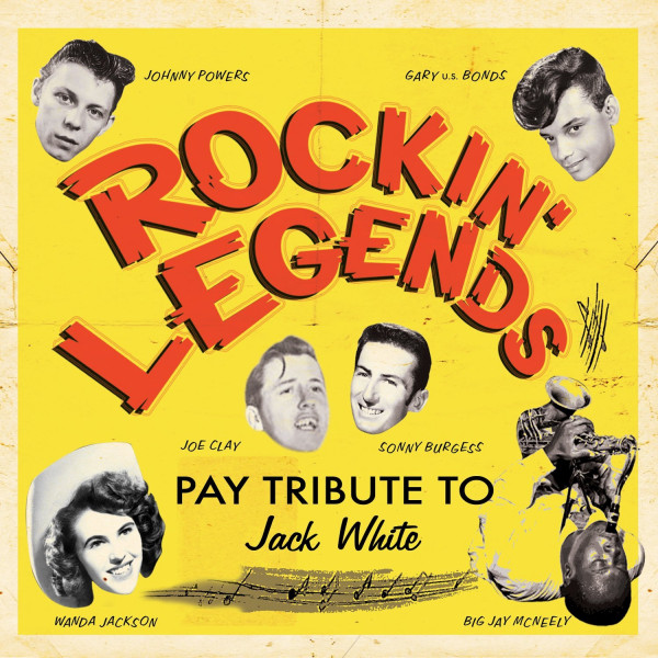 Rockin Legends Pay Tribute to Jack White