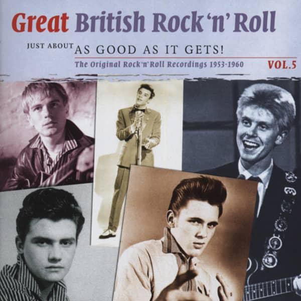 Va Vol.5, British R&R - As Good As It Gets 2-CD