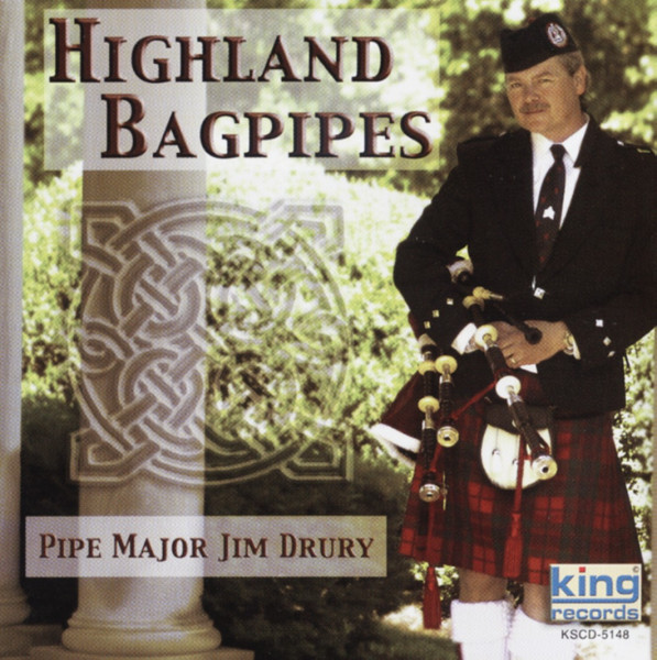 Highland Bagpipes Pipe Major Jim Drury & Tennessee Scots Pipe