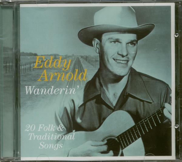 Wanderin' - 20 Folk & Traditional Songs (CD)